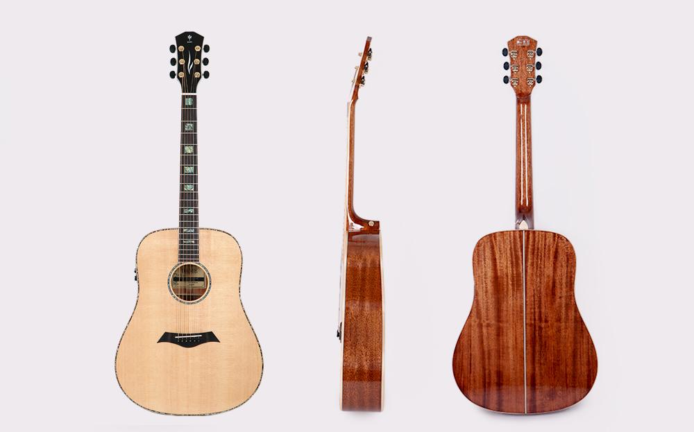 0d832bf0700 기타스토어 데임 Dame LILIES 500EQ 릴리즈500EQ NA 유광 어쿠스틱기타 ...